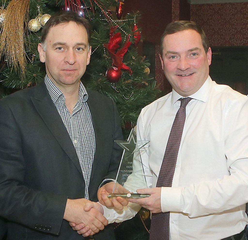 Park Hotel Sportstar Award for October
