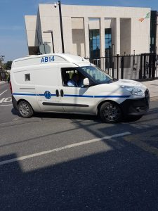 2f4eec6a97 Prison van leaves the Catherine Street Courthouse taking Hasan Bal to serve  his sentence.