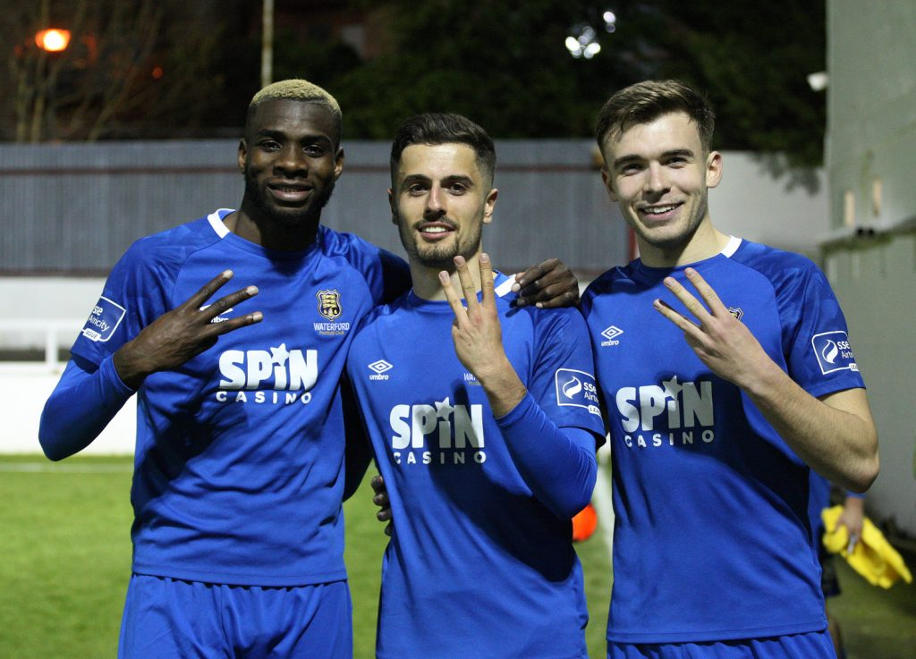 Waterford News and Star — Brilliant Blues destroy Saints